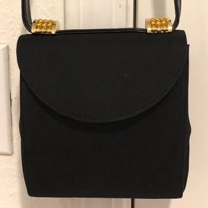 Vintage Rodo small black evening bag